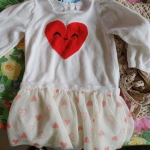 Gymboree heart dress